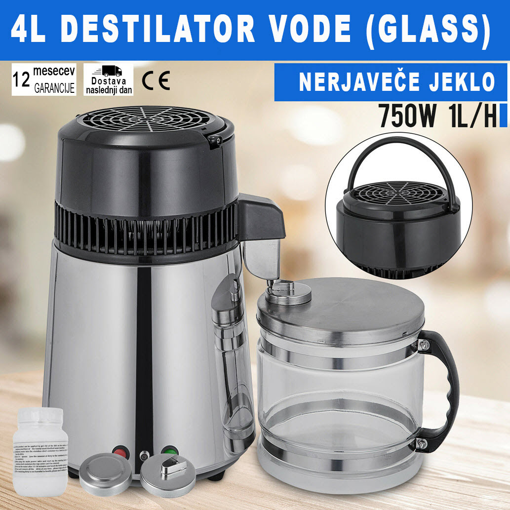 Destilator vode (GLASS)